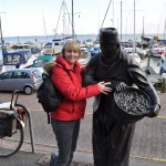 Volendam Statue of Bronze Fisherman