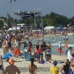 Spring Break Beach Playa del Carmen Mexico