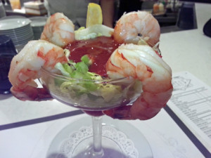 Shrimp cocktail Briggs Oyster Co.